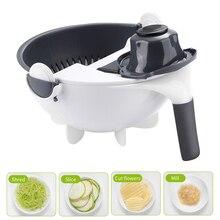 1Pc Multifunctional Vegetable Slicer Household Potato Chip Radish Grater Cutter Kitchen Tools