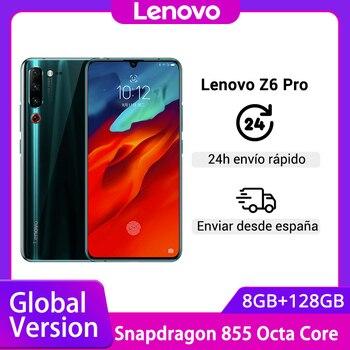 Перейти на Алиэкспресс и купить Оригинальная глобальная версия Lenovo Z6 Pro Snapdragon 855, Восьмиядерный, 6,39 дюймов, FHD дисплей, смартфон, задняя камера 48 МП