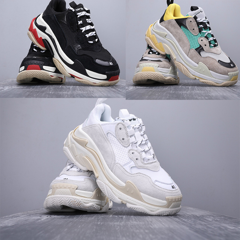 Top Triple S Trainers For Men/women Runner Dad Shoes Chunky Sneakers Zapatillas Deportivas