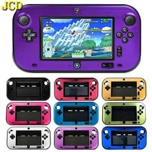 JCD étui de protection solide pour Wii U Gamepad Anti choc fendu en plastique en aluminium boîte housse coque pour WiiU contrôleur accessoire