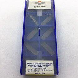 10 sztuk ZPFD0302-MG YBG202 wkładki z węglika CNC narzędzia
