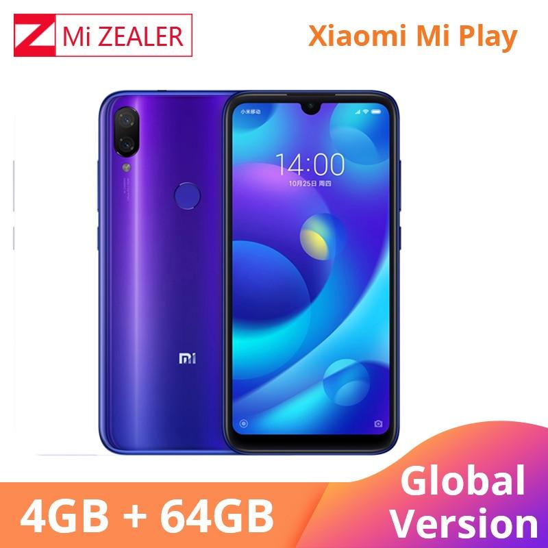 Versão Global Xiao mi mi Jogar Multi-idioma Do Telefone Móvel 4GB 64GB 5.84