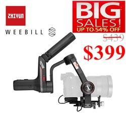Zhiyun Weebill S  laboratorium 3 osi stabilizator Gimbal dla lustra i lustrzanek cyfrowych takich jak Sony A7M3 Nikon D850 Z7  300% ulepszony silnik w Ręczny gimbal od Elektronika użytkowa na