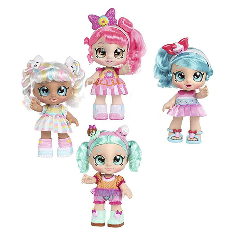 New Product Kindi Toys kids 14 inch Doll Ice Cream Blind Box Surprise Toy Can Sing