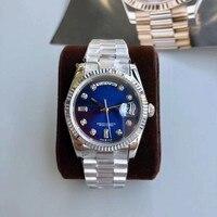 WG10441 Herren Uhren Top Marke Runway Luxus Europäischen Design Automatische Mechanische Uhr-in Mechanische Uhren aus Uhren bei