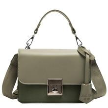 new Women Bag Scrub Shoulder Bags Buckle PU Leather women's Designer Handbags Crossbody Bags For Women Famous Brand Sac Femme недорго, оригинальная цена