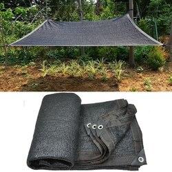 3pin 45% cieniowanie ogród siatka zacieniająca ochrona UV czarny parasol przeciwsłoneczny siatki szklarnia słońce żagle sukulenty rośliny pokrywa Sun Shelter
