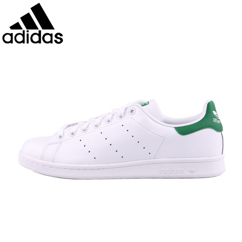 Original <font><b>Adidas</b></font> StanSmith Neutral Skateboarding Shoes Clover Series Men and Women Sneakers Lightweight Leisure FootwearM20324 image