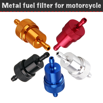 Metal fuel filter for motorcycle, ATV, scooter, moped, gasoline filter, universal fuel filter mugler a men pure havane туалетная вода спрей 100 мл