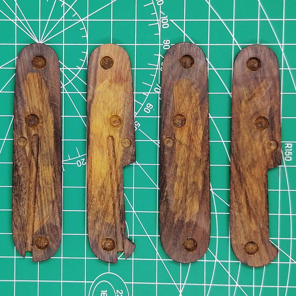 Victorinox Ironwood Handle Desert Army 91mm Mod Knife For Swiss Scales EDC Handmade