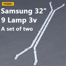 Bending-Backlight-Strips D3GE-320SM0 BN96-33972A Samsung 32inch TV 9-Leds LM41-00001R
