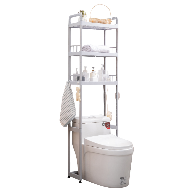 1/2/3Tiers Toilet Shelf Floor Type S...