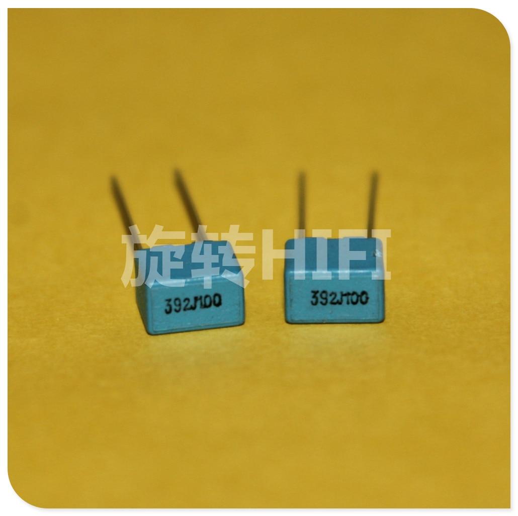 20PCS NEW EVOX PFR5 3900PF 100V P5MM MKP 392/100V film EVOX-RIFA PFR 3900pf/100v 3.9NF 3N9 392J100