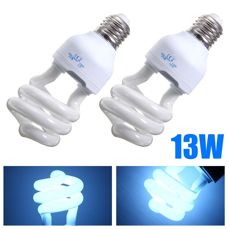 5.0/10.0 UVB 13W Reptile Light Bulb Lamp Reptile Tortoise Turtle Snake Lamp Bulb  E27 Pet Heating Light Bulb