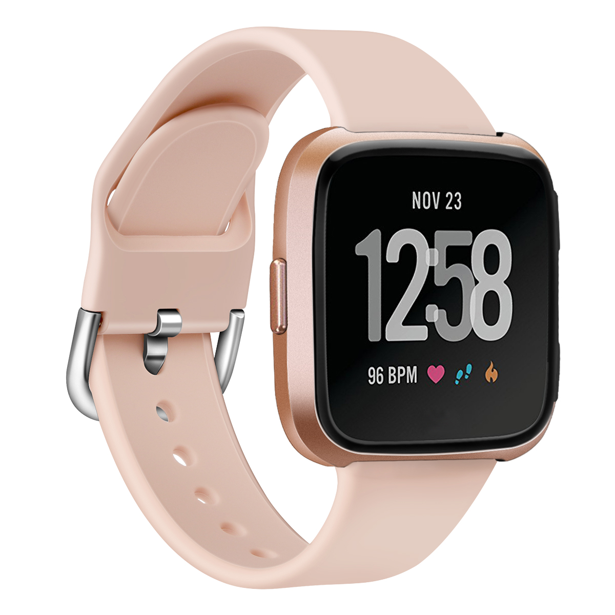 Replacement Fitbit Versa Band Strap Silicone Bracelet Breathable Replacement Sport Strap Bands For Fitbit Versa Watch 61017