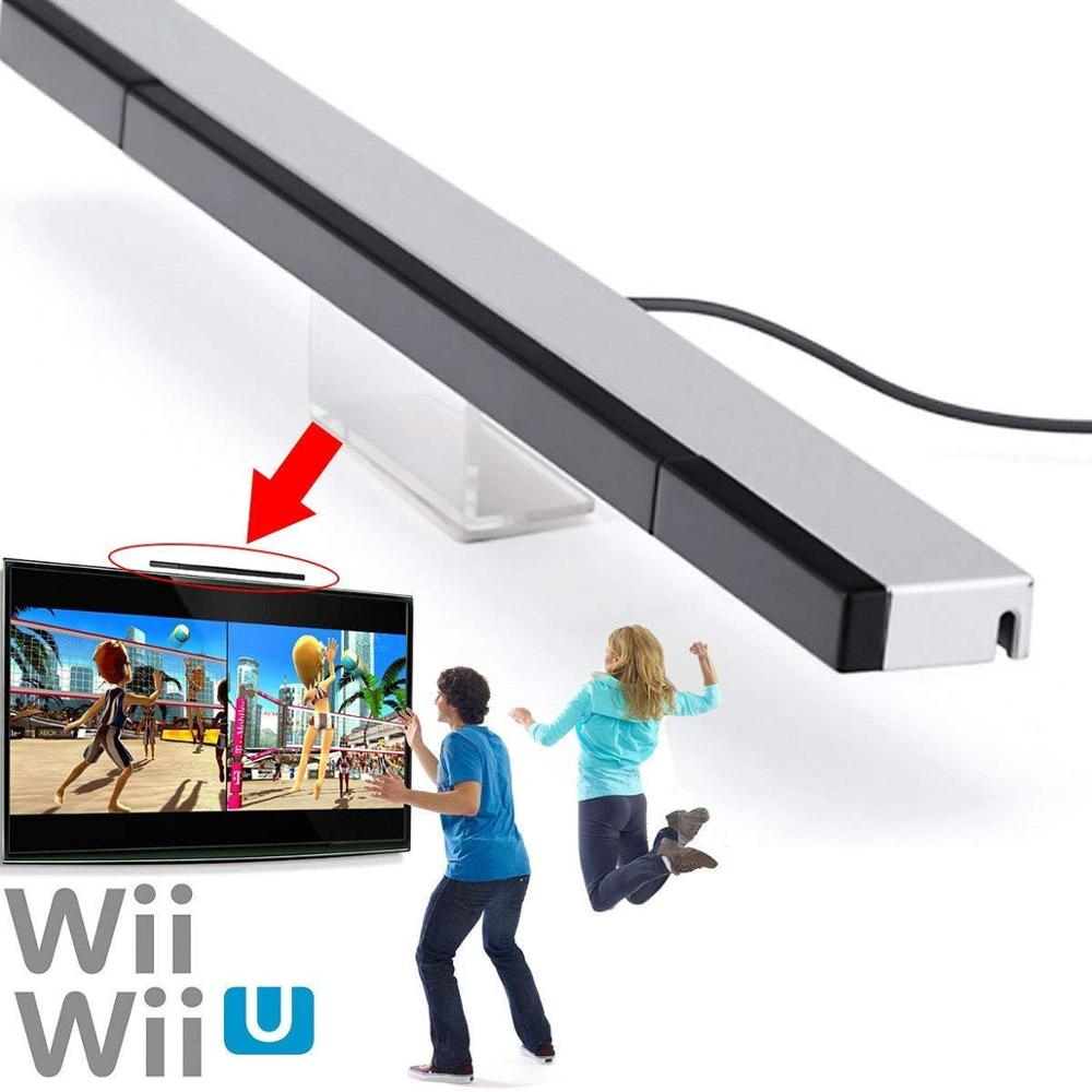 Cheaper Wired Infrared Ray Inductor Clear Easy Install Stand No Need Battery Montion Sensor For Nintendo Switch WII Switch WI-U