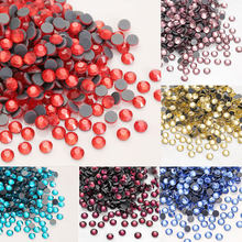 SS4-SS30 AAA Rhinestones Non Hot Fix FlatBack Strass Sewing & Fabric Garment Rhinestones Decorations High Quality Rhinestones(China)