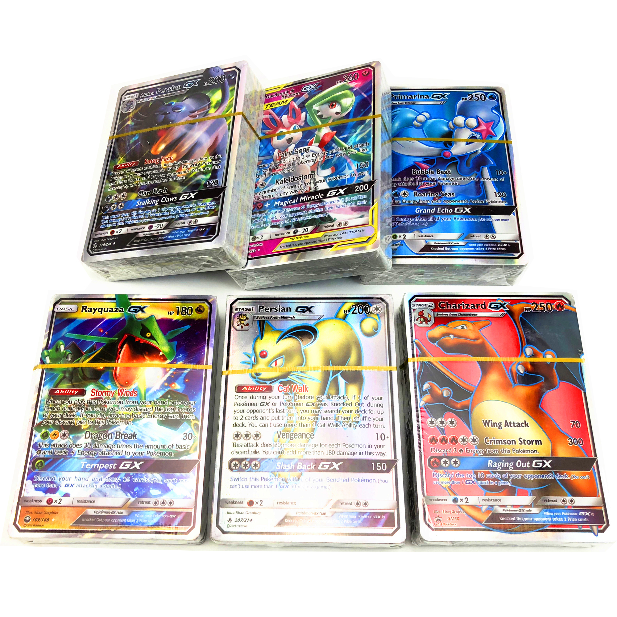 Free Shipping Pokemones Card New Tag Team GX MEGA EX All In Stock Battle Game Card