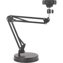 Support de Webcam à Suspension de 22 pouces, bras à ciseaux avec Base,Compatible pour Logitech C922