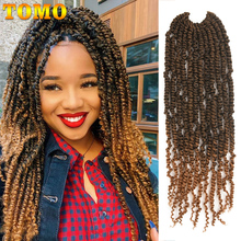 TOMO Fluffy Passion Twist Crochet Hair for Women 18