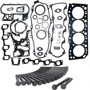 5L Moteur joint Complet kit pour Toyota Hiace III II/Hilux II/Dyna 2986cc 3.0L 51009400 04111-54094 9952864 04111-54106