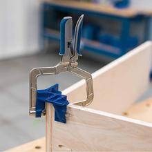 Торцовочные приспособления для деревообработки, зажимы, многофункциональные Угловые Зажимные инструменты, Т-образные соединения, KHCCC, 90 градусов, для джигов, для ручного инструмента