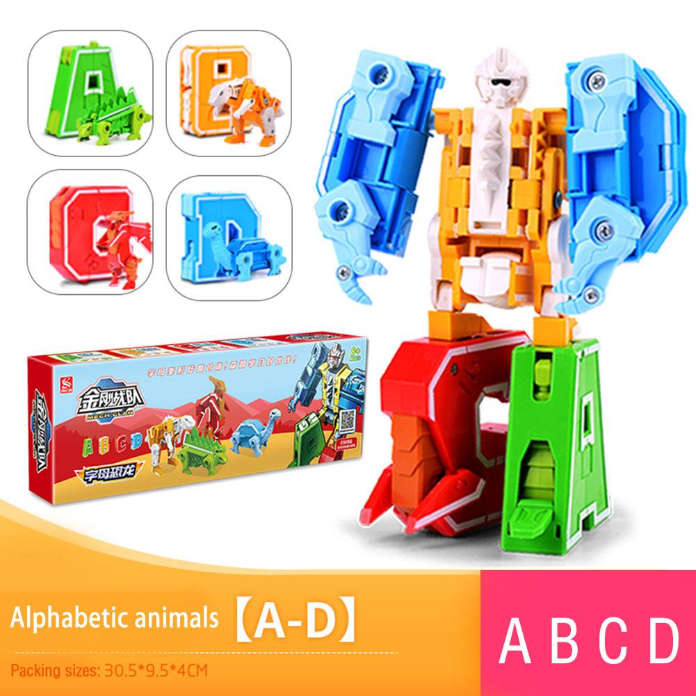 26 letras A-Z alfabeto Animal dinosaurio Guerrero deformación figuras de acción transformación Robot juguetes para niños regalo Brinquedos ¡Anime Tokyo Ghoul 22CM Kaneki Ken despertado Ver! Figura de acción de PVC modelo coleccionable regalo de Navidad de juguete de Brinquedos