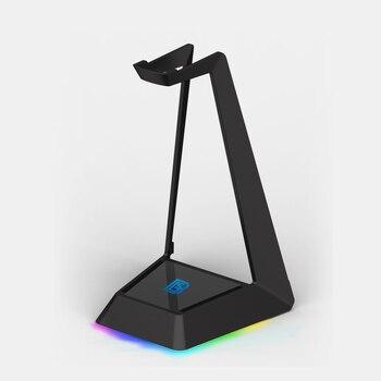 Con Puerto USB para juegos, soporte de auriculares con RGB, luz trasera para correr, auriculares inalámbricos para juegos