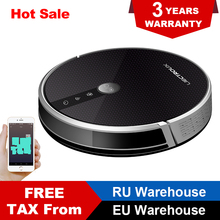 LIECTROUX C30B Robot Vacuum Cleaner 4000Pa Suction 2D Map Navigation Smart Memory WiFi App Electric Water Tank Wet Mopping