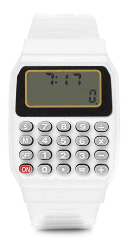 Calculator Watch Fashion Led Digital Watches Kids Watches Silicone Electronic Watch Children Watch Montre Enfants Reloj Infantil