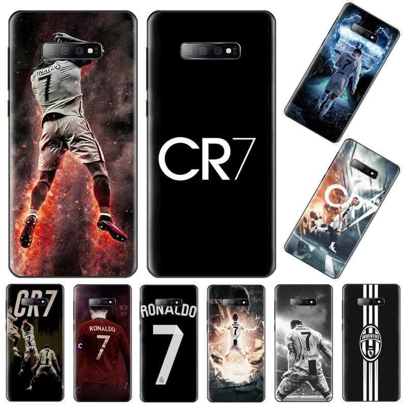 Ronaldo CR7 niestandardowe zdjęcie miękki futerał na telefon do Samsung S6 S7 krawędzi S8 S9 S10 e plus A10 A50 A70 note8 J7 2017