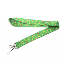 CA247 The Muppet Show Kermit the Frog Cartoon Straps Lanyard ID Badge Neck Rope Chain Necklace Jewelry
