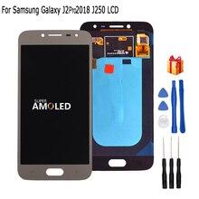 Originale Amoled LCD J250 Per Samsung Galaxy J2 pro 2018 J250 J250F LCD Display touch screen digitizer assembly di Ricambio Del Telefono