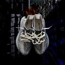 Chaussure освещения 3M рифе Гран-пасифика Redondos шнурки для обуви серпантинов отражающие шнурки круглые шнурки Atacadores Гипсофила серпантинов Pour