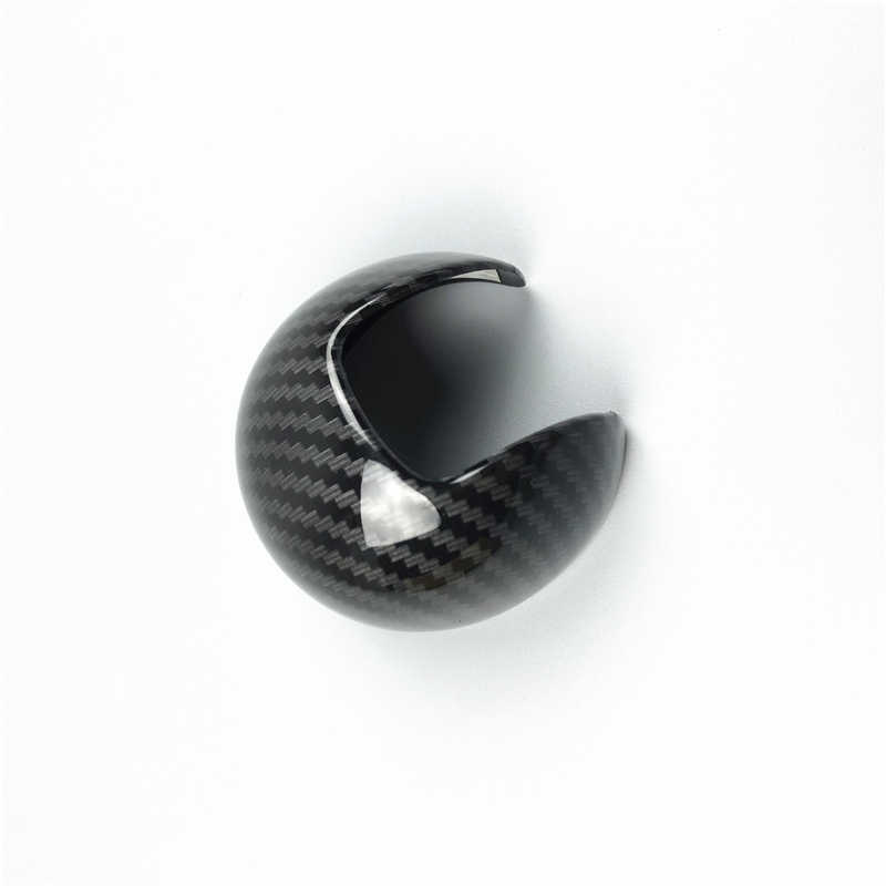 เกียร์ SHIFT Handle ป้องกันฝาครอบสำหรับ Audi A3 8V 2014-2018 ABS คาร์บอนไฟเบอร์สีรถจัดแต่งทรงผมดัดแปลง