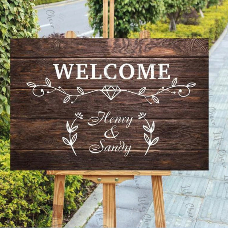 welcome signs personalized - 570×554