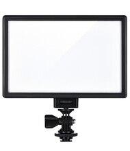 Viltrox L116B caméra Super mince écran LCD Dimmable Studio LED panneau de lampe de lumière vidéo pour caméra DV caméscope DSLR Photo