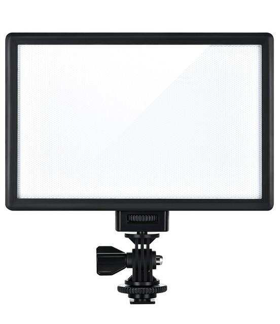 Viltrox L116B камера Супер тонкий ЖК дисплей с регулируемой яркостью студийная фотопанель для камеры DV видеокамеры DSLR фото