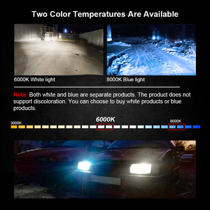 Image 2 - LSlight 9006 HB4 LED 9005 HB3 H4 H7 H8 H9 H11 Car Led Headlight Bulbs Auto Fog Lights DC12V Headlamp 6000K White 8000K Ice Blue
