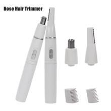 Razor-Cleaner Trimmer Nose Shaver Eyebrow-Scraper Face-Care Ear-Hair Safe for Men Women