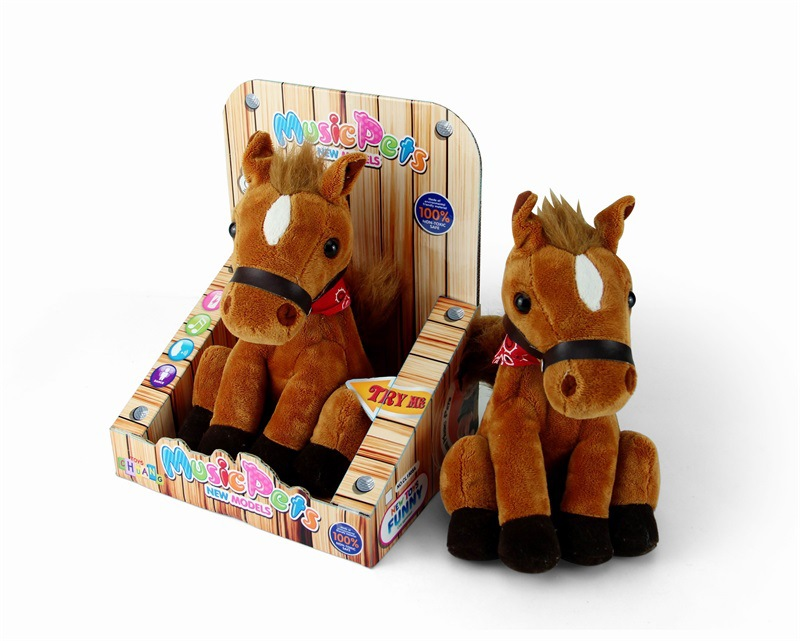 Will Nodding Head Recording Learn To Speak Electronic Toy Horse Electronic Pet My Little Children Early Childhood Educational To