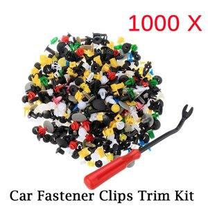 1000Pcs 30 kinds Universal Mixed Auto Fastener Car Bumper Clips Retainer Car Fastener Rivet Door Panel Liner for All Car