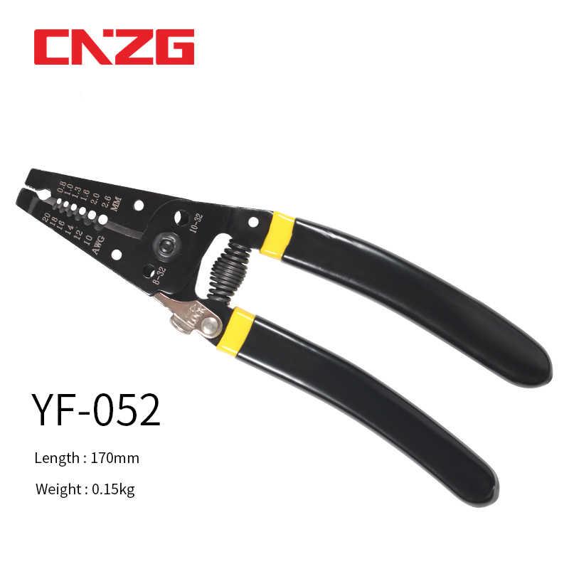 Crimper Tang Tool Automotive Crimp Draad Voor Molex Stijl Delphi Amp Tyco Terminals Open Vat 22-10AWG 1.25/2.0/2.45 Mm2 Dr-1