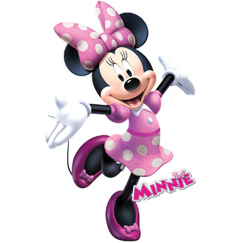 Cartoon Minnie mouse Wall Stickers Home Mural Art Decals For Kid