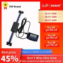 Shahe 0 150mm/0 200mm/0 300mm 0.01mm DRO magnetyczny zdalny cyfrowy odczyt cyfrowy skala liniowa zewnętrzny wyświetlacz