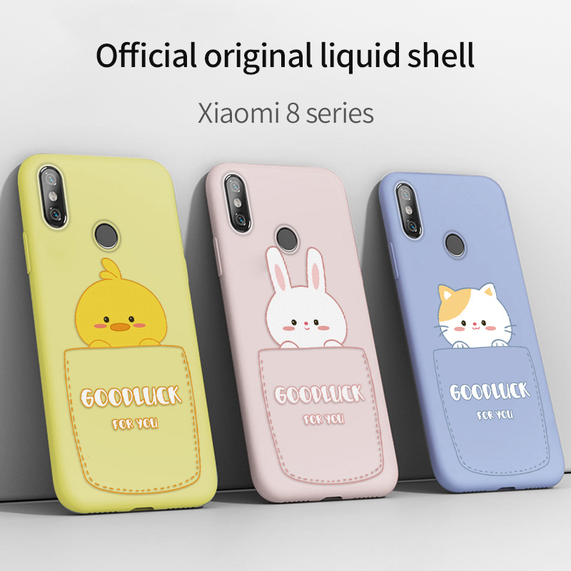 Cute Cartoon Cat Case For <font><b>Xiaomi</b></font> <font><b>Mi</b></font> 6 A2 Case Silicone Cover For <font><b>Xiaomi</b></font> <font><b>Mi</b></font> <font><b>9</b></font> <font><b>SE</b></font> 8 <font><b>SE</b></font> 8 Lite Mix 2 2S Mix 3 Bumper Coque <font><b>Capa</b></font> image