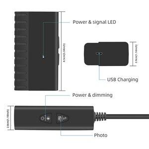 Image 2 - 5.5MM 2.0MP HD 무선 내시경 1080P 듀얼 카메라 IP67 뱀 검사 카메라 iOS 및 안 드 로이드 태블릿에 대 한 2600mAh 배터리