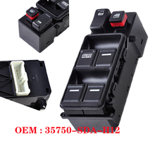Car Electric Power Master Window Lifter Controller Switch 35750-SDA-H12 35750SDAH12 For Honda Accord 2003-2007 Door Lock
