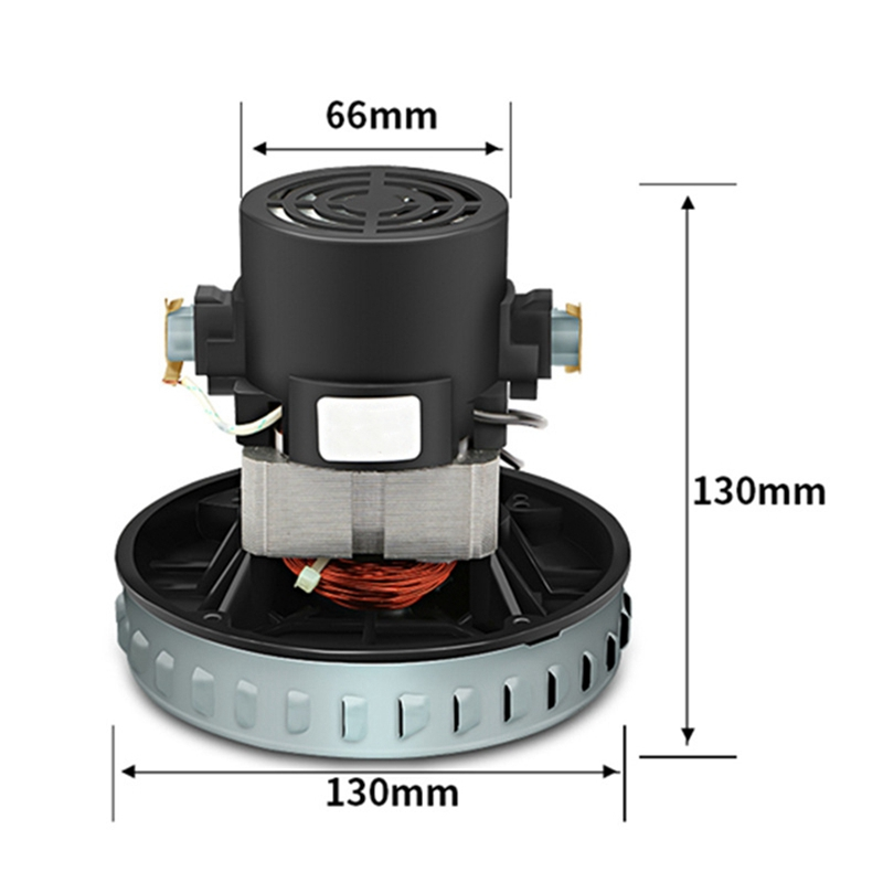 Hot Sale 220V 1200W Universal Vacuum Cleaner Motor 130mm Diameter For Karcher Philips Midea Rowenta Vacuum Parts Copper Wire Mot