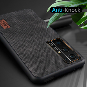 Image 5 - MOFi for Honor 30 Pro Case for Huawei Honor30 30Pro Cover Housing Silicone  Shockproof Jeans PU Leather Back TPU Dustproof